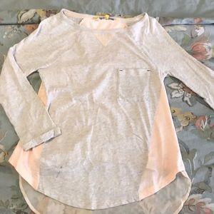Anthropologie tshirt blouse